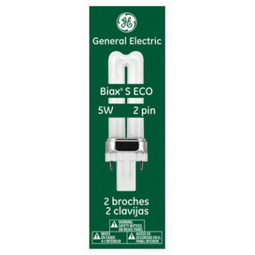 GE Lighting 97551 F5BX/827/ECO Single Tube 2 Pin Base Compact Fluorescent Light Bulb