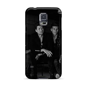 Shock Absorbent Cell-phone Hard Covers For Samsung Galaxy S5 (lUJ15554KioV) Allow Personal Design Realistic Linkin Park Series