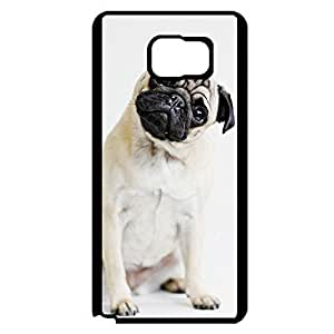Charming Surprised Pug dog Phone Case Cover For Samsung Galaxy Note 5
