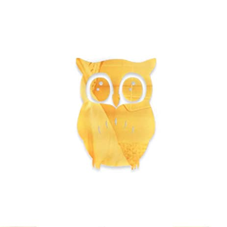Amazon.com: MuLuo 3D Mirror Wall Stickers Removable Reflect Owl ...