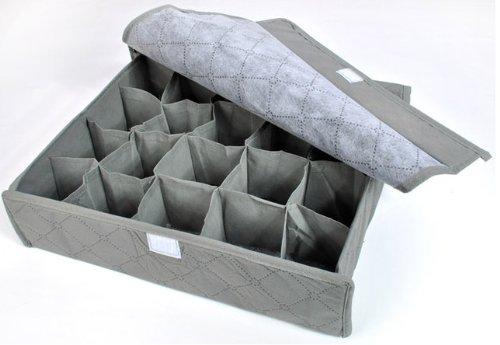 Periea Drawer Organiser 20 compartments - Grey - Rihana