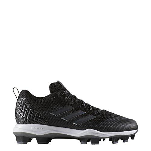 low priced 2944e e1aa1 Galleon - Adidas Men s Freak X Carbon Mid Baseball Shoe, Core Black, Silver  Met, FTWR White, 11 M US
