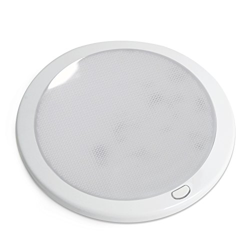 Dream Lighting 12 Volt LED Opal Round Panel Ceiling Dome
