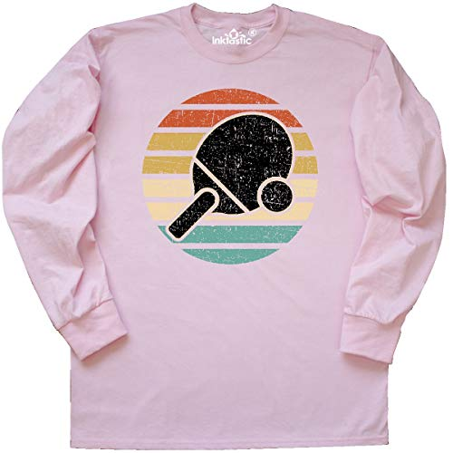 Ping Mens Long Sleeve - inktastic - Table Tennis Ping Long Sleeve T-Shirt XX-Large Classic Pink 369a5
