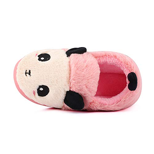 MK MATT KEELY Kids Panda Slippers Plush Animal Autumn and Winter Warm Cotton Shoes Toddler Girls by MK MATT KEELY (Image #5)
