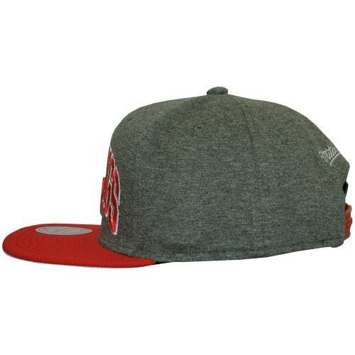 Mitchell & Ness - Casquette Snapback Homme Detroit Red Wings Team Arch Jersey