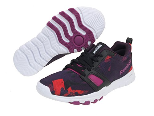 Running Reebok Train Chaussures Noir 0 Sublite 3 L Rouge aaqP0nw