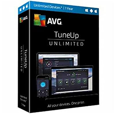 AVG TuneUp 2017 Unlimited 1 Year