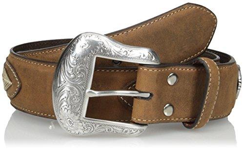 (Nocona Belt Co. Men's Brown Overlay String Lace, Medium, 34)