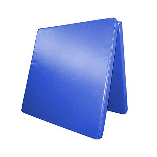 Klappbare Turnmatte - versch. Farben & Größen - Raumgewicht: 22 kg/m³ (200 x 100 x 8 cm, Blau)
