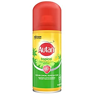 Autan Tropical Spray Secco, Insetto Repellente e Antizanzare Tigre, Comuni e Tropicali, 1 Confezione da 100 ml 4 spesavip