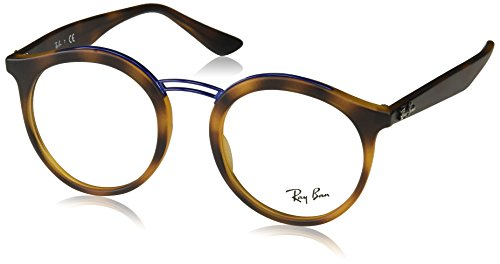 Ray-Ban Women's RX7110 Eyeglasses Matte Havana - Prescription Ray Ban