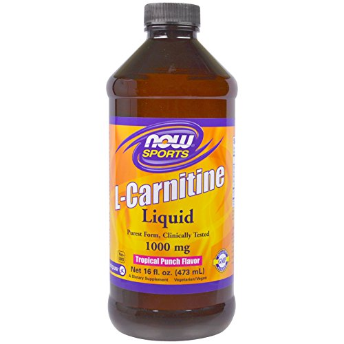 NOW Foods L-Carnitine Liquid Tropical Punch 1000 mg - 16 oz. by NOW Foods