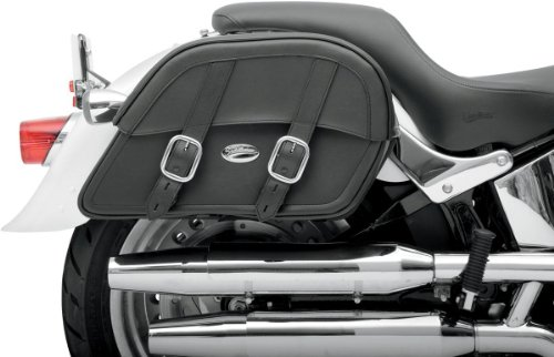 Saddlemen Drifter Custom Fit Slant Saddlebags Large (Large Slant Saddlebags)