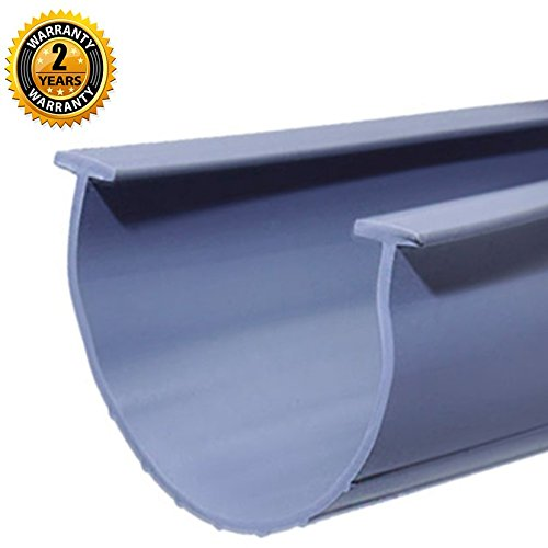 "Universal- Grey 5/16"" T-end 20' Garage Door Bottom Rubber"