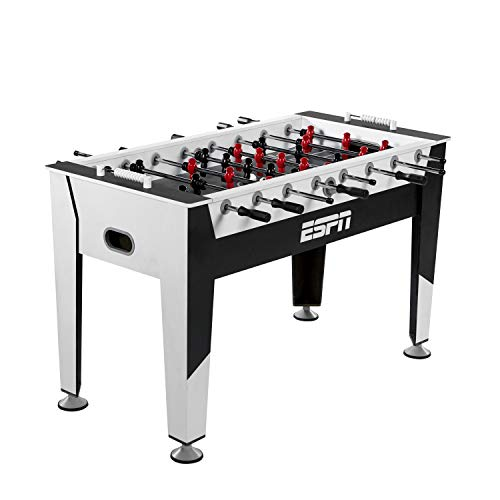 (Foosball Tabletop Game with Accessories for Adults, Kids - Table Soccer and Football for Game Room, Arcade, Basement - Classic Foosball Tables - All Parts Included - For Home and Sports Bar Games)