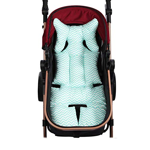 Breathable Organic Cotton Seat Pad Liner Head & Body Support Pillow for Car Seats and Strollers by anne210 (Image #1)
