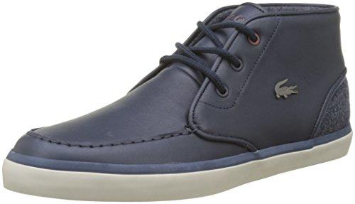 Hommes Lacoste Sevrin Cam Mid 417 1 Bleu Haute Sneaker (de Nvy)