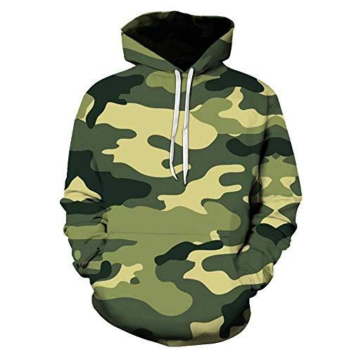 MEN.CLOTHING-LEE Unisex 3D Hoodie Neuheit Personalisiertes Sweatshirt Kapuzen-Stretch-Hoodie Digitaler Tarnungsdruck