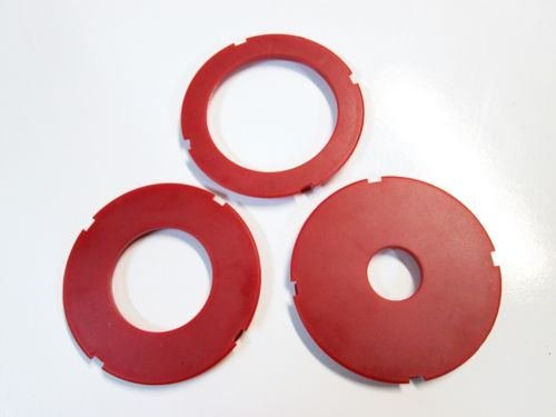 Router Table Insert Ring Set, 97mm OD, Fits Sears Craftsman & Ryobi, Set of 3 (Router Table Plans)