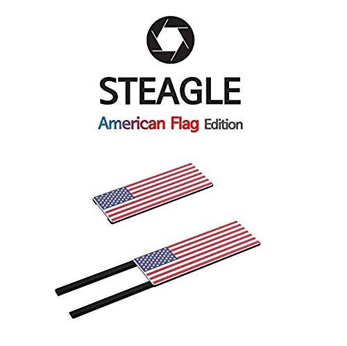 STEAGLE Special Edition (American Flag) Premium Webcam Cover for your privacy  Macbook – Laptop - PC ()