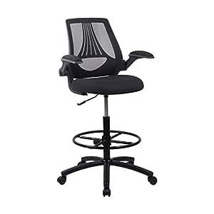 Amazon.com : LCH Ergonomic Drafting Chair/Mesh Office ...