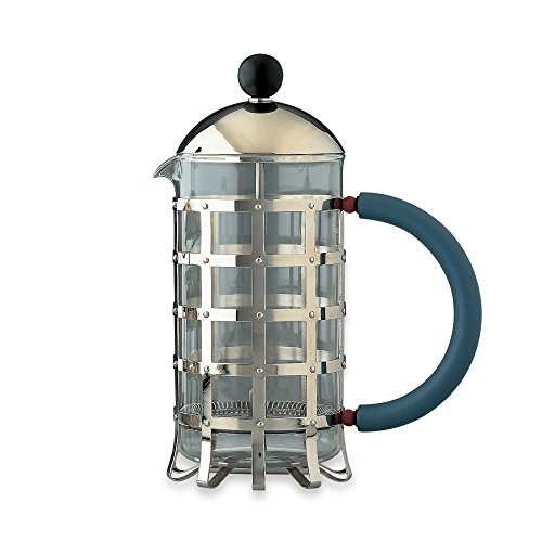 Alessi Press Filter Coffee Maker or Tea Infuser by Alessi
