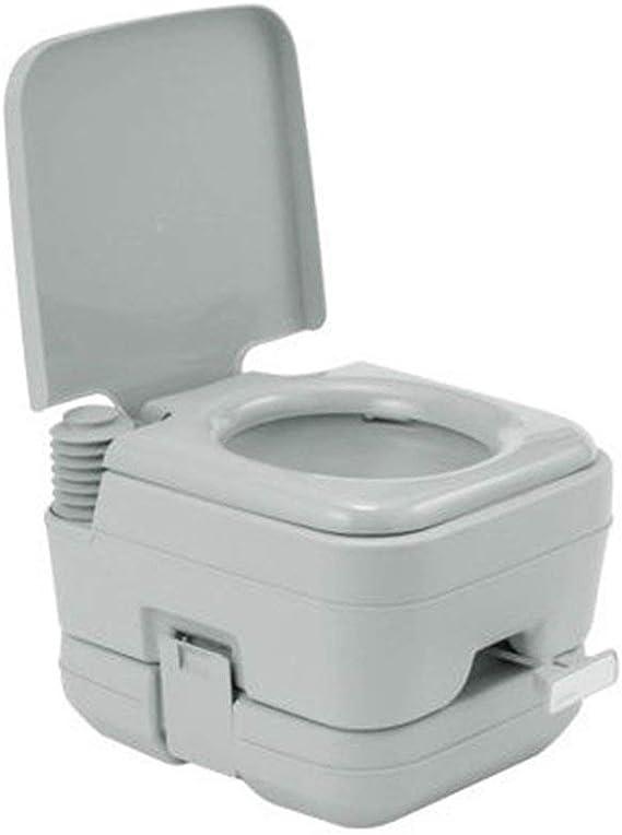 Krispich Toilettes de camping portables Loo Caravan Flush Voyage en plein air Commode