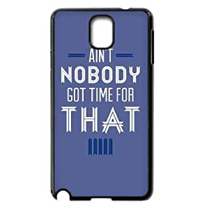 2015 customized Ain't Nobody Got Time For That Personalized Case for Samsung Galaxy Note 3 N9000, Customized Ain't Nobody Got Time For That Case