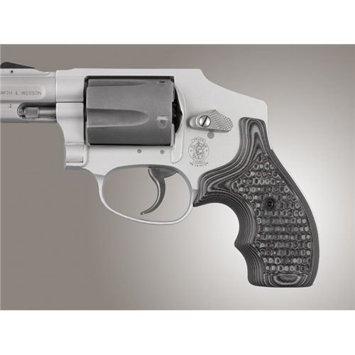 Hogue 61137 S&W J Frame Round Butt Grip, Bantam Piranha, used for sale  Delivered anywhere in USA