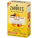 Zarbee's Naturals Daytime Cough & Throat Relief, 6 Packets Per Box