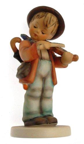 c1957 HUM210 Hummel Little Fiddler figurine - NEGR46