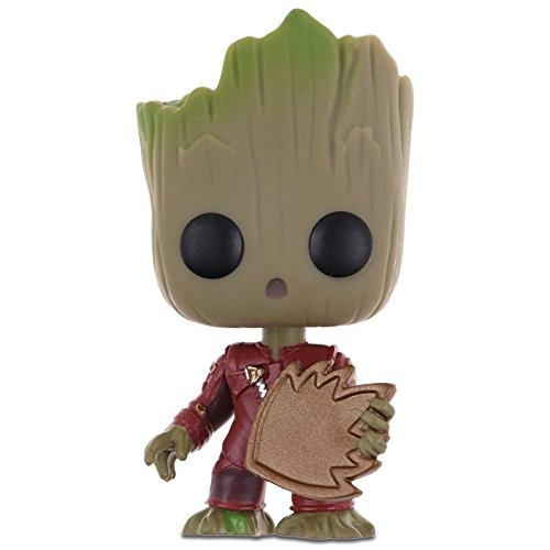 Popular Guardians of the Galaxy Vol.2 Vinyl Qute Figure Figurine Gift(Groot #1)