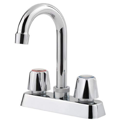 Pfister Pfirst Series 2-Handle Bar/Prep Kitchen Faucet, Polished Chrome by Pfister