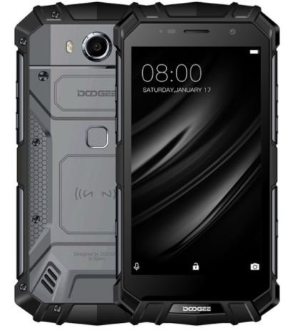 reputable site ea679 09081 Doogee S60 Lite 5.2-inch Full HD Waterproof/Shockproof 4G Smartphone,  5580mAh Battery, Wireless Charging, 1.5GHz Octa Core, 4GB + 32GB(Black)