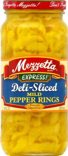 G L Mezzetta Peppers, Mild Ring, 16-Ounce (Pack of 6)