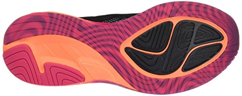 Peacock Orange para FF de Black Negro Asics Noosa Pink Hot Zapatillas Mujer Gimnasia q7RxgxvX