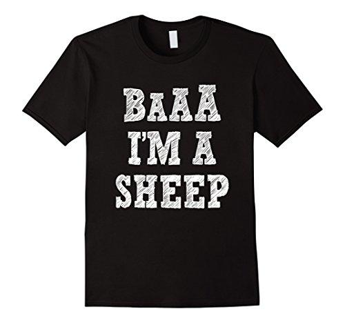 Mens Funny Sheep Halloween Costume Shirt 2XL (Sheep Costume For Men)