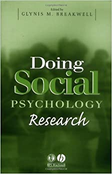Book Doing Social Psychology Research