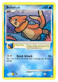 (Pokemon - Buizel (75) - Mysterious Treasures - Reverse Holo)