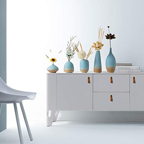 Modern Simple Vase Ceramic Creative Ornament Dry Flower Vase Household Soft Decoration