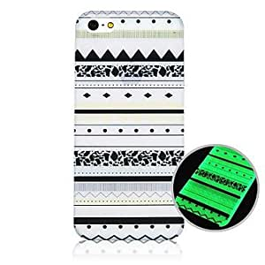 DUR National Pattern Fluorescence after Sunniness Hard Back Case for iPhone 4/4S