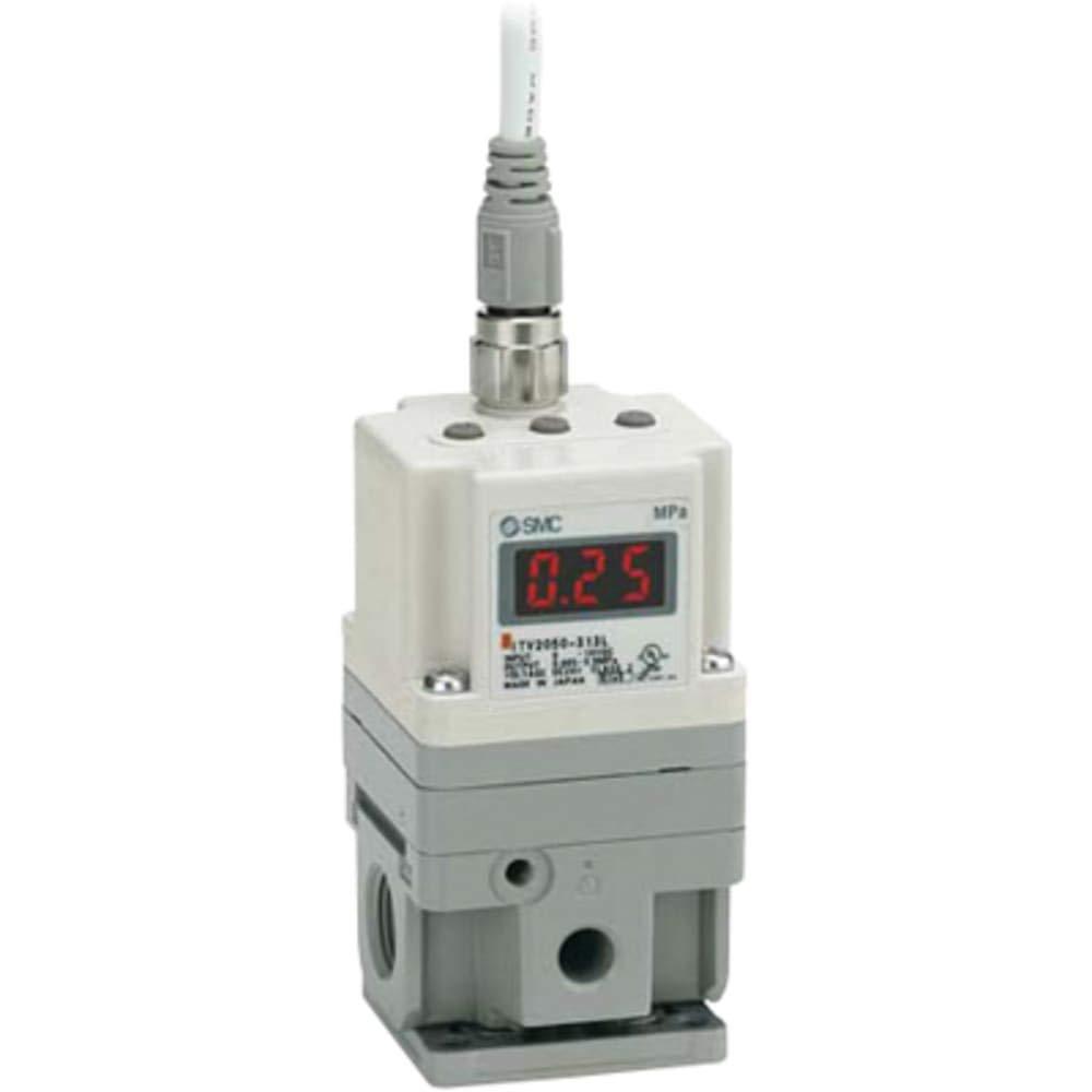 Regulator; Pneumatic; 1⁄ 4 in; NPT; 0.5 Mpa; 0.1 MPa; 0 to 50 ° C; 50 m
