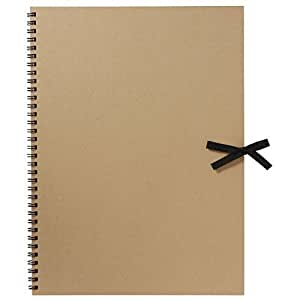 MUJI Moma Recycled paper sketchbook 332×242mm 20sheets