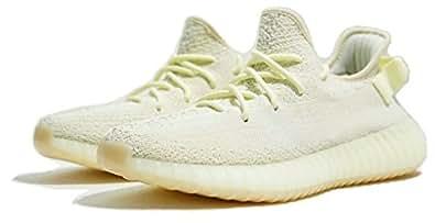Yeezy Boost 350 V2 Butter Ice Cream F36980 Hombre Mujer Zapatillas Deportivas: Amazon.es: Zapatos y complementos