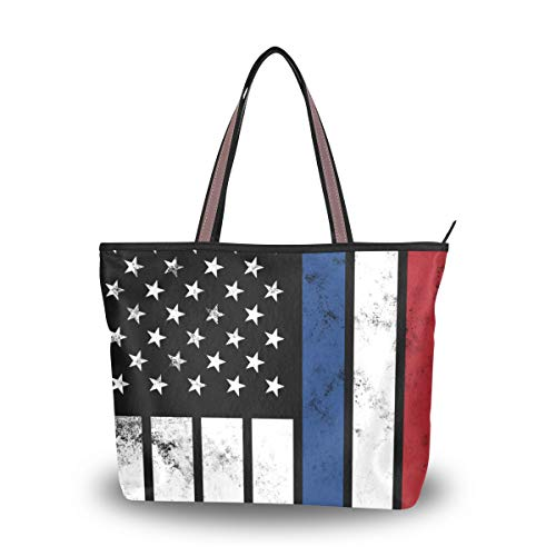 Tote Bag With Distressed...