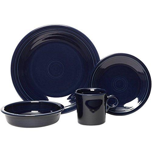 Fiestaware 16pc Dinnerware Set - Cobalt Blue]()