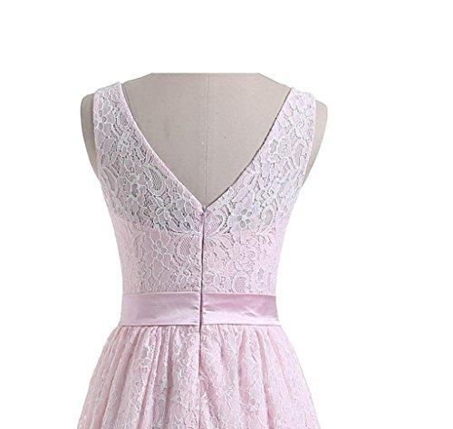 Drasawee Weiß Kleid A Damen Linie Wfyg6U