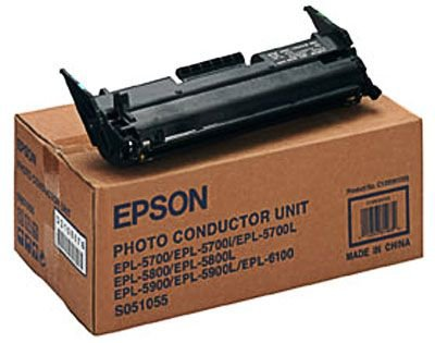 Epson® S051055 Photoconductor Unit, Black by Epson