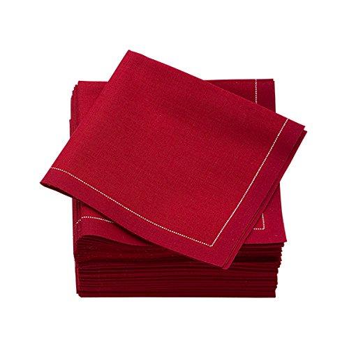 """MYdrap SA21/701-5 Pre-Folded Cotton Luncheon Napkin, 4"""" L..."""